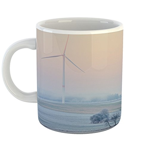 Westlake Art - Coffee Cup Mug - Wind Turbine - Modern Picture Photography Artwork Home Travel Office Birthday Gift - 11oz (f30 - A Mobile Store Find Wind
