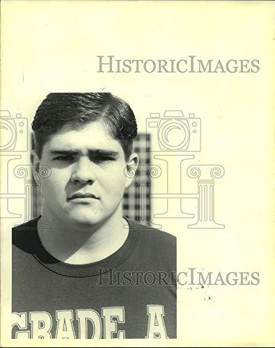 Vintage Photos 1993 Press Photo Destrahan High Athlete Howard Johnson - nos17771