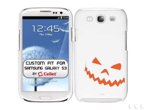 Cellet White Proguard with Halloween Theme 3 for Galaxy S -