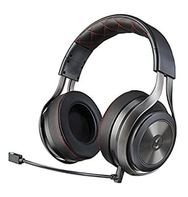 LucidSound LS40 Premium Wireless Gaming Headset - DTS Headphone:X 7.1 Surround Sound - PRO, PS4, Xbox One, PC, Mobile Devices from LucidSound