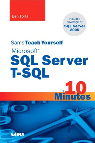 Sql Server 2012 T-sql Recipes A Problem-solution Approach Pdf