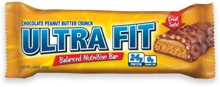 ULTRA FIT Peanut Butter Crunch 24g Protein Bar – 12 Count