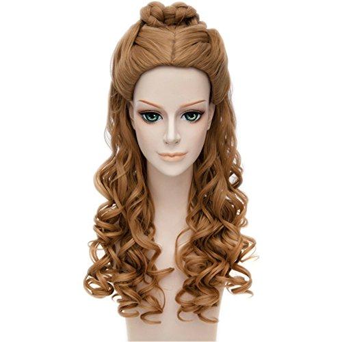 MSHUI Cinderella Pretty CurlyWigs