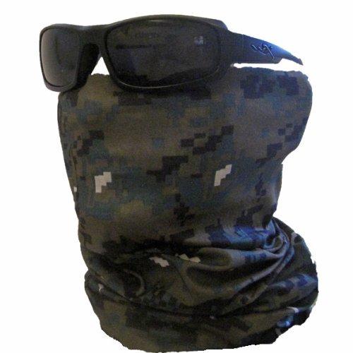Woodland Camo Bandana Mask - 1