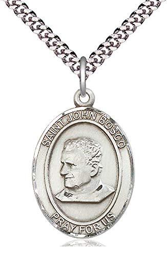 St. John Bosco Medal in Fine Pewter, 1