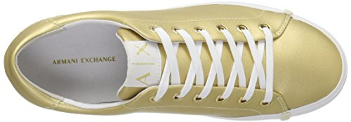 A Fashion Armani Gold Exchange Sneaker Exchange X Women Armani Eco Leather 11FTwq