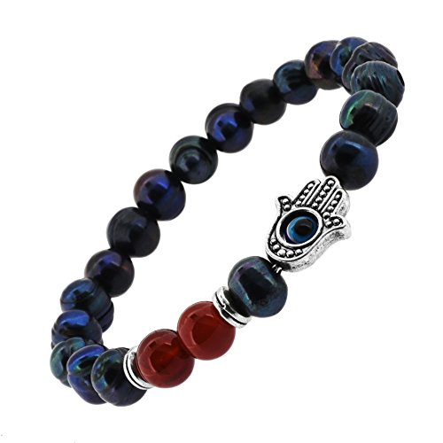 Beaded Meditation Jewelry Stretch Bracelet product image