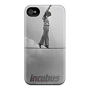 Iphone 4/4s TKW12564DGFx Customized Vivid Incubus Band Skin Perfect Hard Phone Cover -TammyCullen