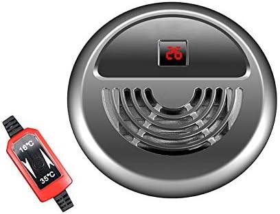 水中水族館ヒーター、LEDデジタル温度表示付きミニ水槽ヒーター、外部サーモスタットコントローラー付き加熱サーモスタット