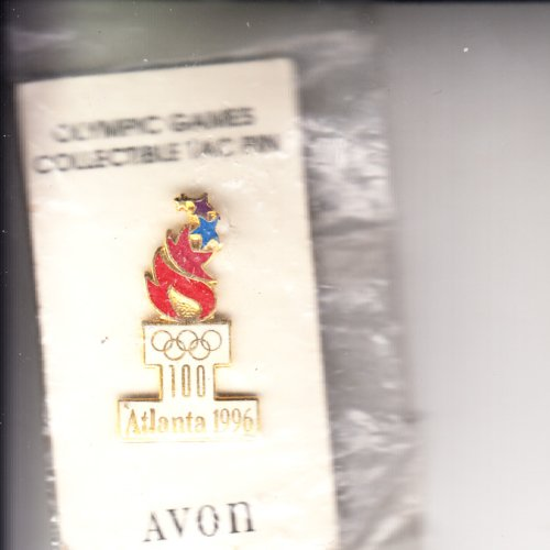 - Avon 1996 Olympic Games Collectible TAC Pin Never opened