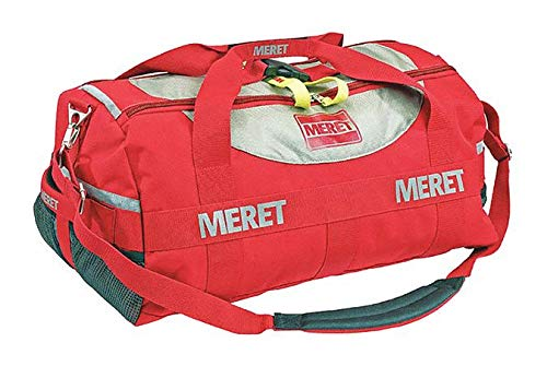 Duffel Bag, 1200D Coated TPE, 9-1/2'' H, Red