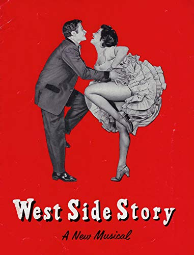 "Stephen Sondheim""WEST SIDE STORY"" Larry Kert/Carol Lawrence/Leonard Bernstein 1959 Souvenir Program"