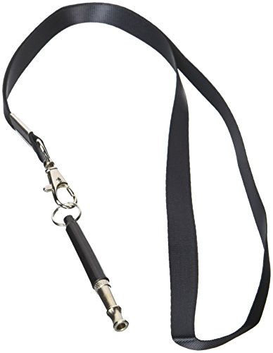 HiSayee Dog Whistle to Stop Barking, Adjustable Pitch Ultrasonic Training Tool Silent Bark Control for Dogs- Pack of 2 PCS Whistles with 2 Free Lanyard Strap