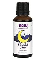 Now Foods Peaceful Sleep Oil Blend, 1 Ounce