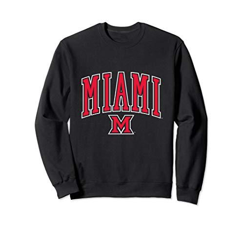 - Miami University MU RedHawk NCAA Crew Neck Sweatshirt19MU-1