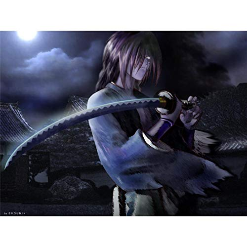 (KPSheng Rurouni Kenshin Poster On <80cm x 60cm, 32inch x 24inch)