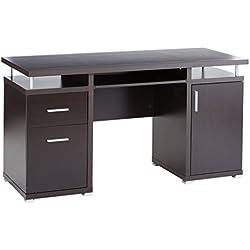 Coaster Cappuccino Office Desk