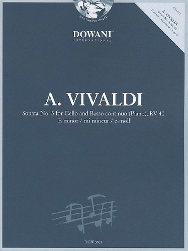 (Vivaldi: Sonata No. 5 for Cello and Basso Continuo (Piano) in E Minor,  RV 40)