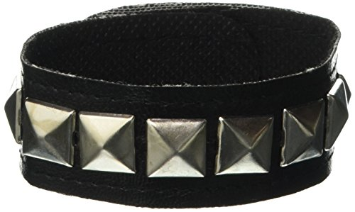 Forum Novelties Studded Single Wristband 1 stud Multicoloured