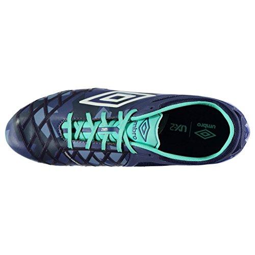 Umbro Men's Football Boots Blue Cobalt/Weiß jSmYV