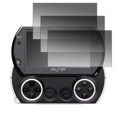 - 3 Pack of Premium Crystal Clear Screen Protectors for Sony PSP Go [Accessory Export Packaging]