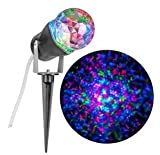 Gemmy Lightshow Multicolor Kaleidoscope Projection Red, Green and Blue Holiday Light for Halloween & Christmas
