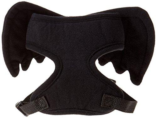 Forum Novelties Bat Wing Pet Harness, Black, -