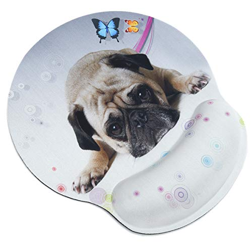 Top 10 pug mouse pad with wrist support