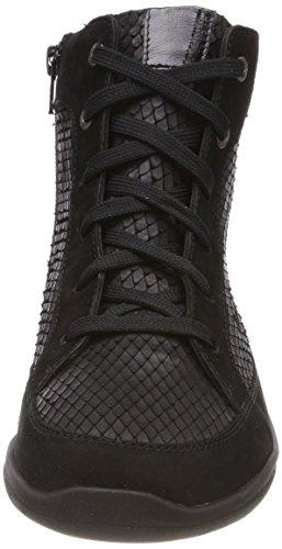 Ganter Gill, Weite G, Sneaker Alte Donna Nero (Schwarz (Schwarz 0100))