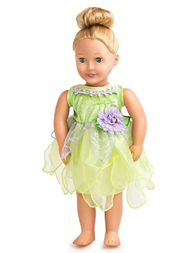 Little Adventures Tinkerbell Fairy Matching Doll Dress