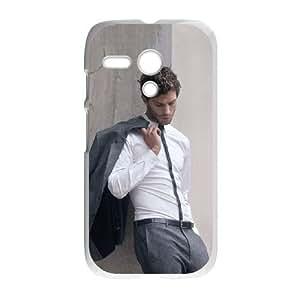 Motorola G Cell Phone Case White Jamie Dornan QGF Unique DIY Phone Case