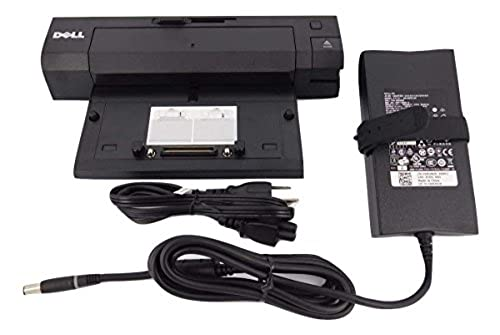 Dell Docking Station EPort Plus Replicator PRO2X USB3.0  PA4E Adapter 130watt