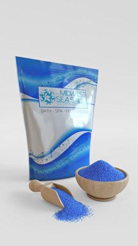 Fresh Rain Mediterranean Sea Bath Salt Soak - 20lb (Bulk) - Fine Grain (Soak Rain Bath)