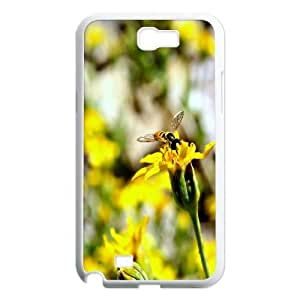 Samsung Galaxy Note 2 Cases Honey Bee 3, Case for Samsung Galaxy Note 2 N7100 - [White] Ancos