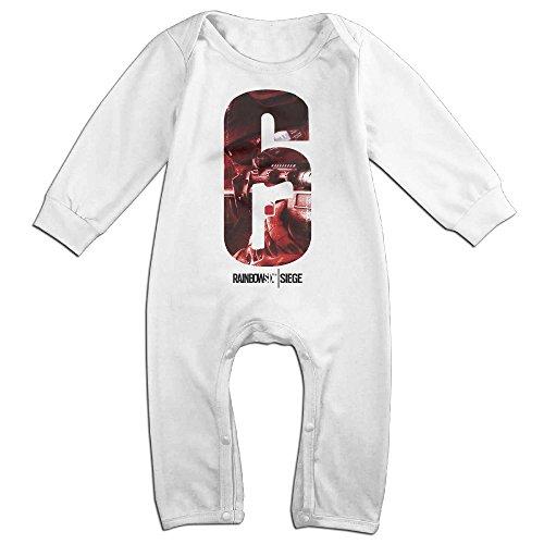 Price comparison product image Rainbow Six Siege Baby Onesie Bodysuit Toddler Clothes Jumpsuits Longsleeve