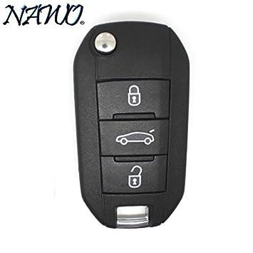 Carcasa de llave Jongo Peugeot 508 308: Amazon.es: Coche y moto