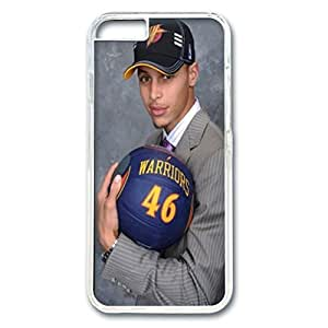 iPhone 6 plus case,fashion durable Transparent side design for iPhone 6 plus,PC material cover ,Designed Specially Pattern with Stephen Curry . by runtopwell