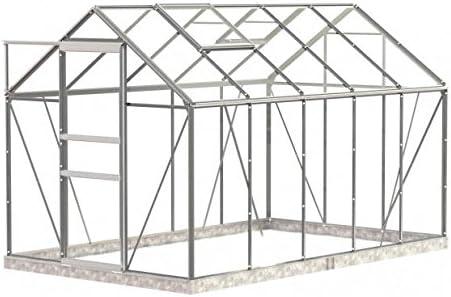 Invernadero de aluminio dekowunder simplicidad clásica vidrio ...