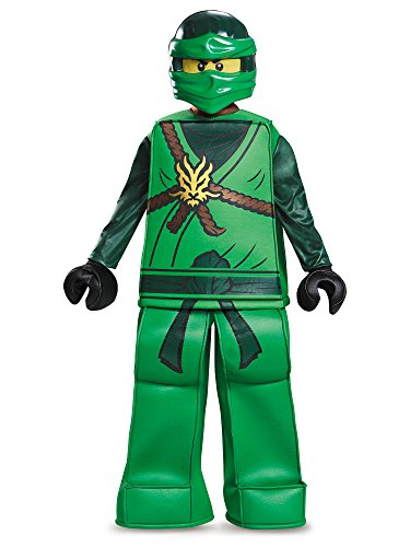 Lloyd Prestige Ninjago Lego Costume, Medium/7-8 -