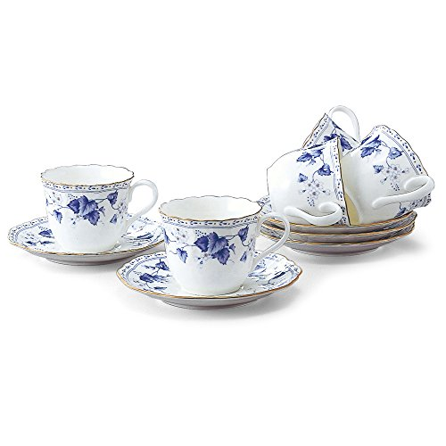 NARUMI Narumi Solaria 5 guests coffee porcelain bowl plate set 8128-21286P (japan import)