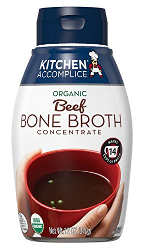 Kitchen Accomplice Bone Broth, Beef, 12 Ounce