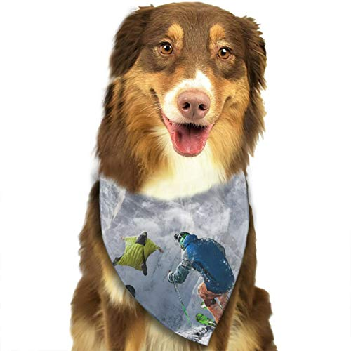 Dog Bandana Triangle Scarfs Puppy Bibs Accessories, Skiing Snowboarding, for Dogs, Cats, Pet Birthday Party Gifts Supplies