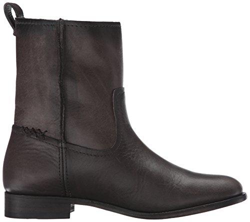 Short Cara Leather Frye WoMen Smoke Brown Boot TwxxR