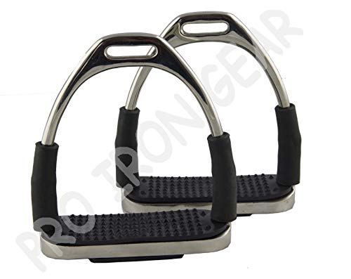 Flexi Safety Stirrups Horse Riding Bendy Irons 5 INCH