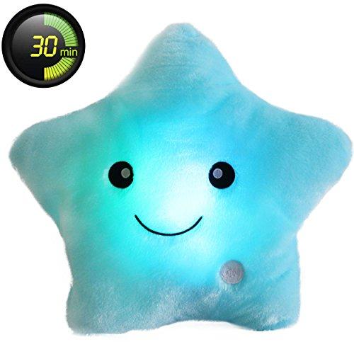 Star Led Light Pillow