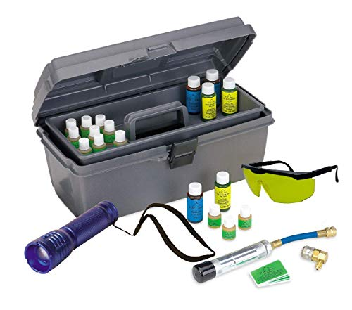 Power Steering Dye - FJC 4971 Fluorescent Leak Detection UV Dye Kit