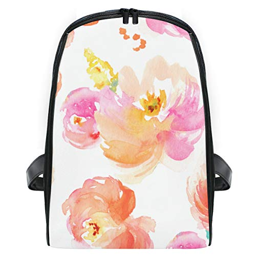 CHASOEA Children's School Bag Cute Watercolor Floral for sale  Delivered anywhere in USA