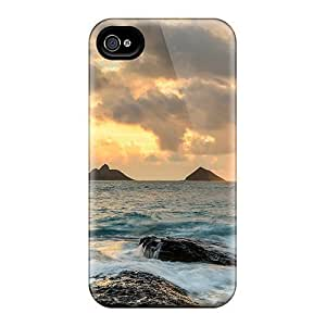 Travers-Diy Guowei Slim Fit Protector Shock Absorbent Bumper nM5H5PFkdvV case cover For Iphone 4/4s