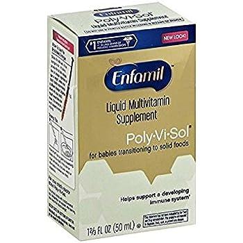 Amazon Com Enfamil Poly Vi Sol Vitamin With Iron 1 67 Fl