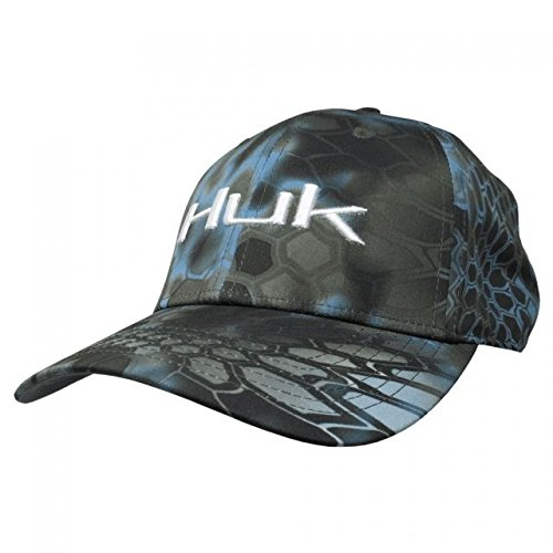 Huk Kryptek Stretch Baseball Cap, Neptune, Medium - Large from Huk